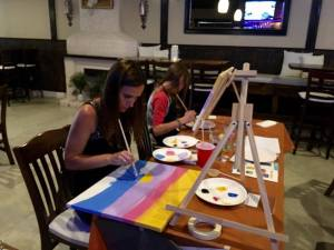 lisa summer painting